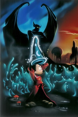 Noah-The Sorcerers Dream Panel 1 Deluxe - From Disney Fantasia
