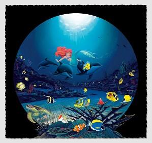 Wyland-Ariel's Ocean Ride