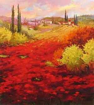 Irene Sheri-Poppy Field