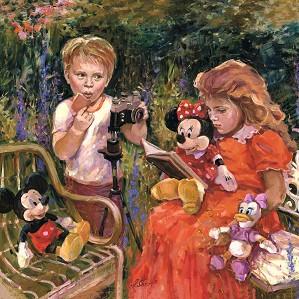 Irene Sheri-Reading to Minnie