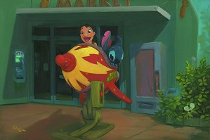 Rob Kaz -Space Adventure - From Disney Lilo and Stitch