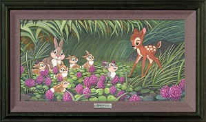 Michelle St Laurent-Saying Hello to Thumper Framed