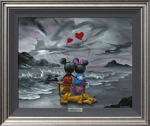 Jim Warren-Mickey and Minnie Forever Love