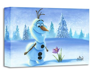 James C Mulligan-Snowman in Spring From The Movie Frozen