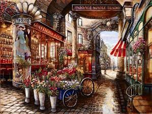 Suljakov-Passage Novice Tendre H/E Giclee on Hand-Textured Canvas