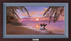 Irene Sheri-The Perfect Sunset Framed