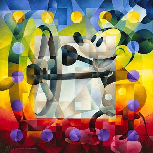 Tom Matousek-Steamboat Willie Gallery Wrapped