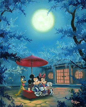Rob Kaz -Summer Night Mickey Minnie and Pluto