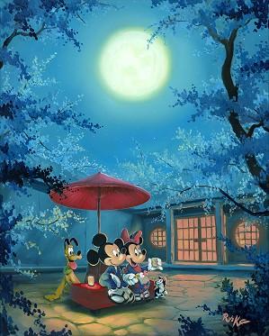 Rob Kaz -Summer Night Mickey Minnie and Pluto