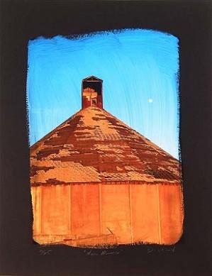 Tim Dickson-Napa Moonrise Chiarograph