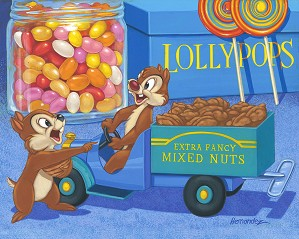 Manuel Hernandez-Trunk Full of Nuts - From Disney Two Chips and a Miss