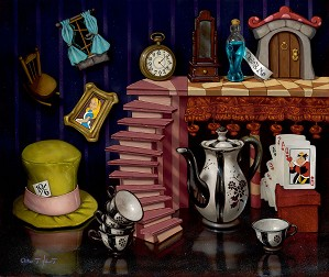Clinton Hobart -Things from Wonderland -  Alice In Wonderland