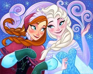Tim Rogerson-The Warmth of True Love Original From The Movie Frozen