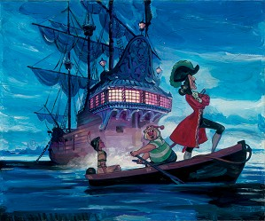 Jim Salvati-Tiger Lilly And Hook - From Disney Pirates of the Caribbean
