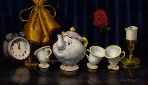 Clinton Hobart -Time for Tea - Beauty and The Beast
