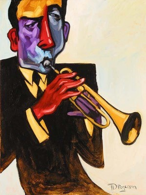 Tim Rogerson-Blowin In The Wind Giclee
