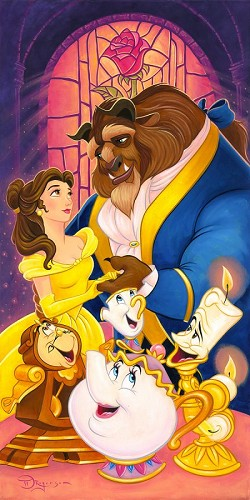 Tim Rogerson-True Love's Tale From Beauty and the Beast