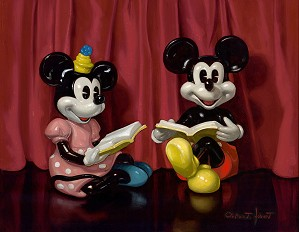 Clinton Hobart -Tell Us a Story - Mickey and Minnie