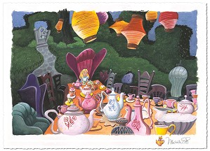 Michelle St Laurent-Tea with Alice  - From Alice in Wonderland