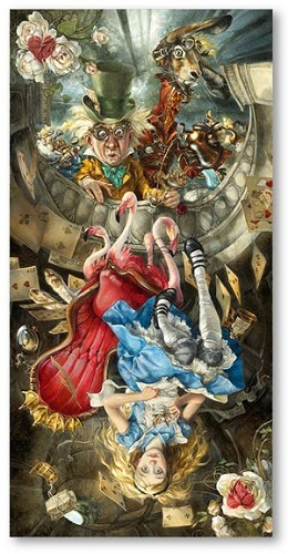Heather Theurer-We're All Mad Here Premiere Edition