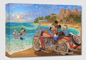 Manuel Hernandez-Where the Road Meets the Sea From Mickey And Minnie