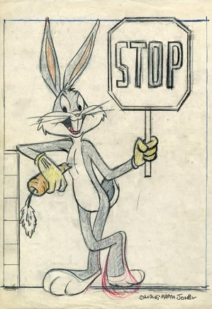 Chuck Jones-Bugs Bunny: Stop On The Lot