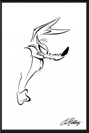 Eric Goldberg-He Leaps - Wile E. Coyote
