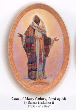Thomas Blackshear II-Coat Of Many Colors Plate