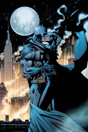 Jim Lee-Kissing the Knight