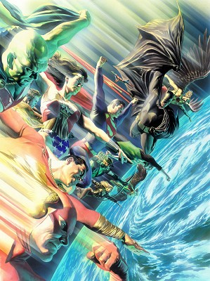 Alex Ross-Protectors of the Universe