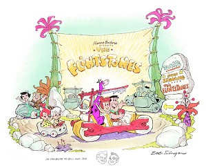 Hanna & Barbera-Hanna-Barbera Presents The Flintstones