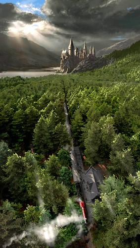 Stuart Craig-Journey on the Hogwart's Express