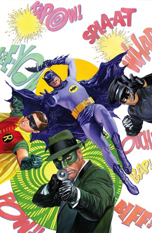 Alex Ross-Batman 66 & the Green Hornet