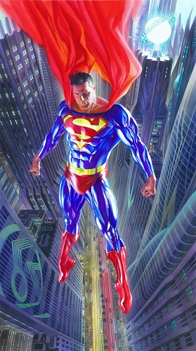 Alex Ross-Superman Man of Tomorrow ~ oversized international edition