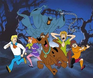Hanna & Barbera-Relp! It's the Green Ghost From Scooby-Doo