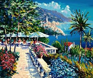 Kerry Hallam-Amalfi Terrace Paper
