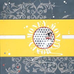 Philippe Bertho-Money Gold Serigraph