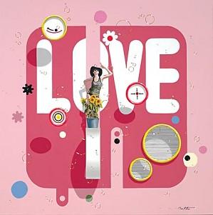 Philippe Bertho-Love Serigraph