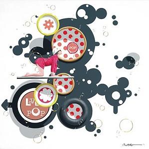 Philippe Bertho-Love Pop 2 Serigraph
