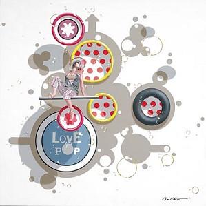 Philippe Bertho-Love Pop 3 Serigraph