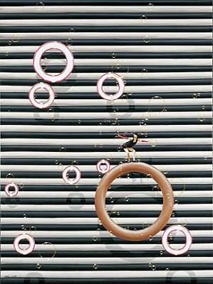 Philippe Bertho-Pin Up Serigraph