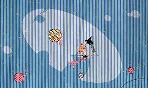 Philippe Bertho-Femme Sous Emprise Serigraph