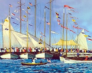 Sally Caldwell Fisher-Regatta Day