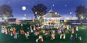 Sally Caldwell Fisher-Concert on the Green