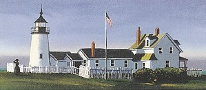 Sally Caldwell Fisher-Pemaquid Light