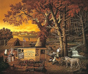 Charles Wysocki-The Memory Maker