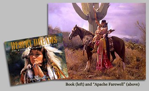 Don Crowley-DESERT DREAMS THE WESTERN ART OF DON CR COLL. BOOK and
