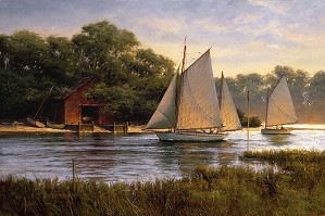 Don Demers-By the Old Boat House