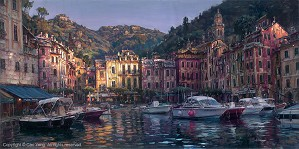Cao Yong-Dawn In Portofino Artist Proof