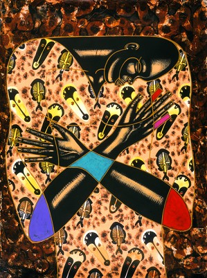 Larry Poncho Brown-Deep Brother  Giclee S/n 62